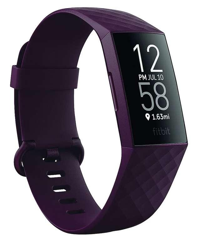 Fitbit Charge 4 (NFC) Gesundheits- und Fitness-Tracker in weinrot für 84,89€inkl. Versand (statt 94€)