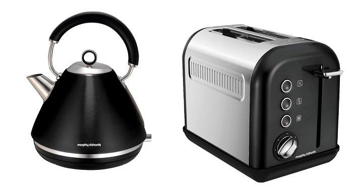 Morphy Richards Wasserkocher + Toaster für 55€ inkl. VSK (statt 94€)