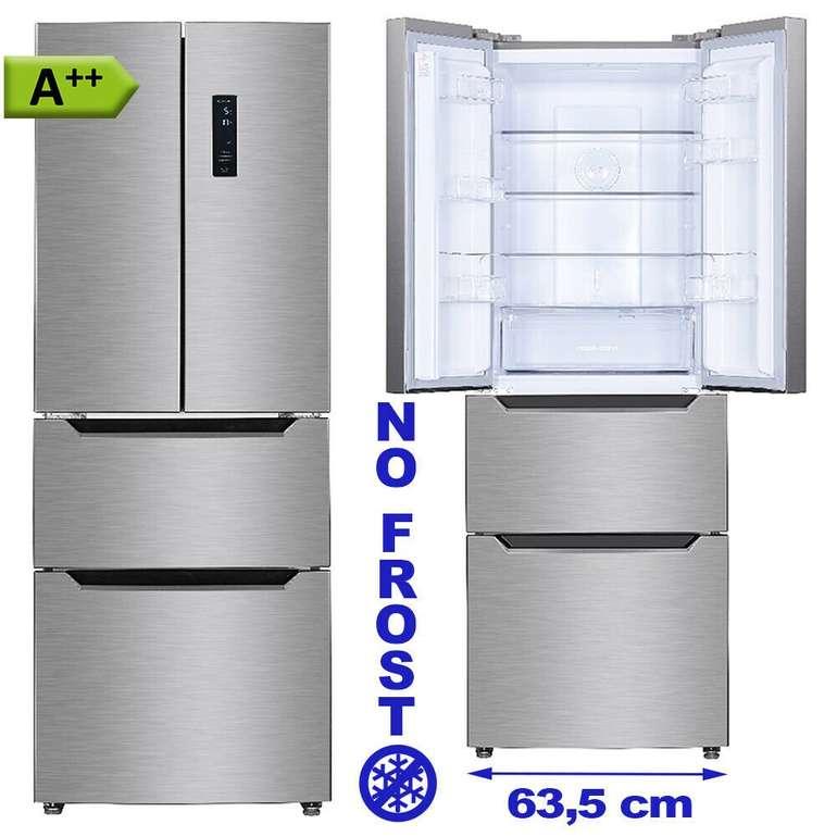 PKM FD351.4 Kühl-Gefrierkombination mit French Door aus Edelstahl für 459€ inkl. Versand (statt 539€)