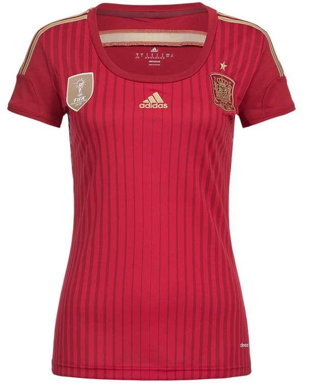 Adidas Damen Heim Trikot Spanien für 7,28€ inkl. Versand (statt 29€)