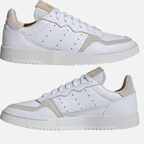 Adidas Originals Supercourt Herren Sneaker in Weiß für 42,42€ inkl. VSK