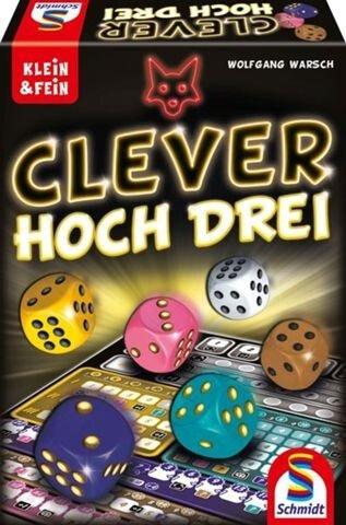 Schmidt Spiele - Clever hoch Drei (49384) für 8,59€ inkl. Versand (statt 13€) - Thalia Club!