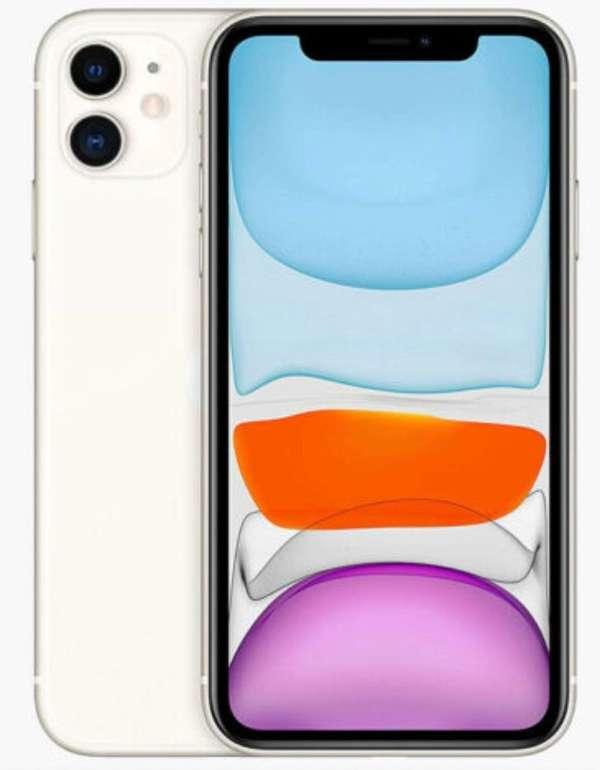 Apple iPhone 11 mit 128GB Speicher in weiss für 619€ inkl. Versand (statt 685€)