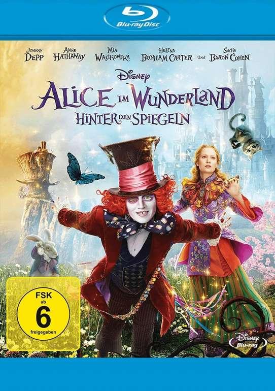 Alice im Wunderland: Hinter den Spiegeln Blu-ray für 4,38€ inkl. Versand (statt 10€)
