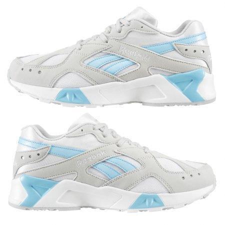 Reebok Classics Aztrek Laufschuh Grey/White/Blue für 35,98€ inklusive Versand