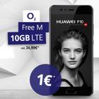2x Free M (Allnet, SMS-Flat, 10GB LTE) + Huawei P10 und P10 Lite für 59,98€ mtl.