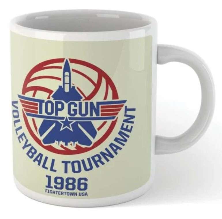 Top Gun Bundle bestehend aus T-Shirt (Damen und Herren) und Tasse für 11,48€ inkl. Versand (statt 28€)