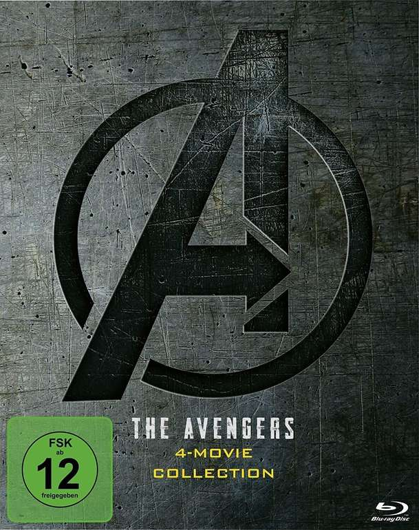 The Avengers 4-Movie Collection (Blu-ray, 2020, 5 Discs) für 19,59€ inkl. Versand (statt 30€)