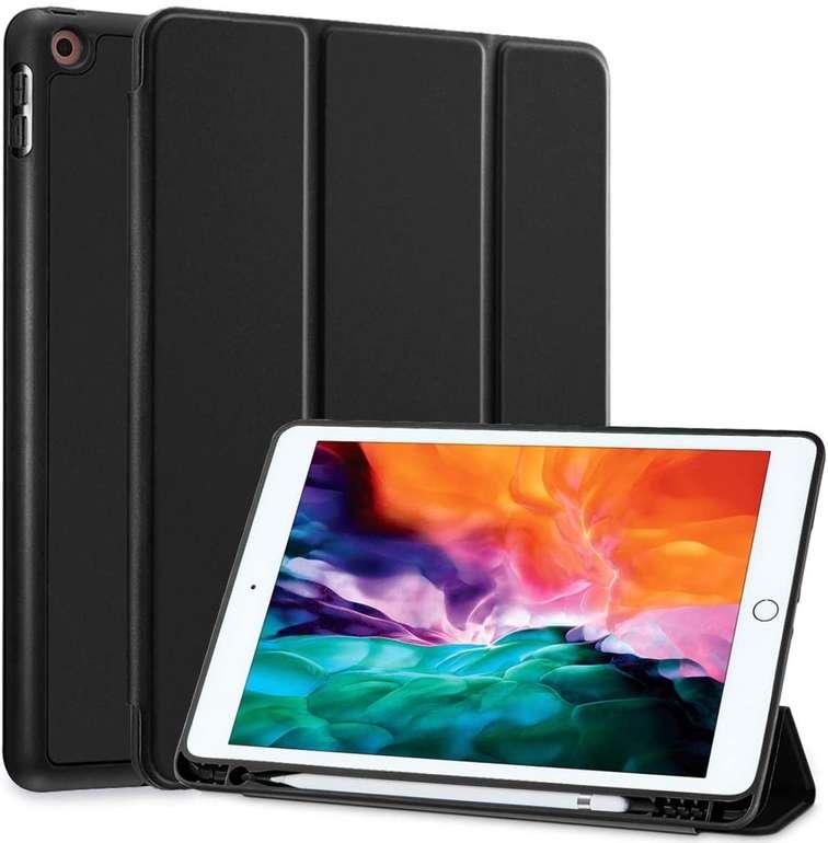 Siwengde iPad Schutzhülle mit Stifthalter (für iPad 10.2) für 5,49€ inkl. Prime Versand