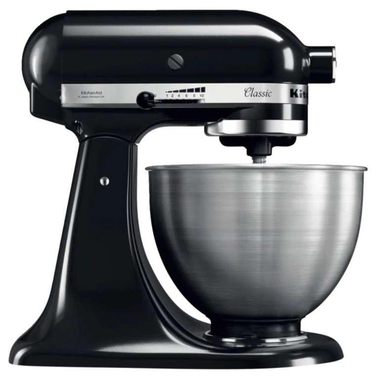KitchenAid 5K45SSEBM Küchenmaschine in Matt Schwarz für 279€ inkl. Versand (statt 349€)