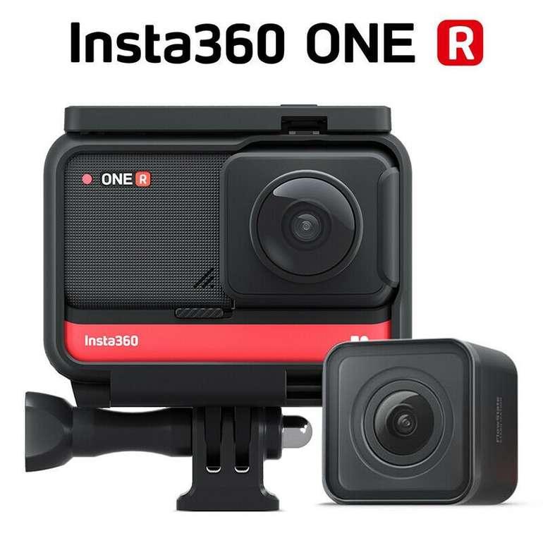 Insta360 ONE R Twin Edition + 4K Weitwinkelobjektiv für 446€ inkl. Versand (statt 483€)