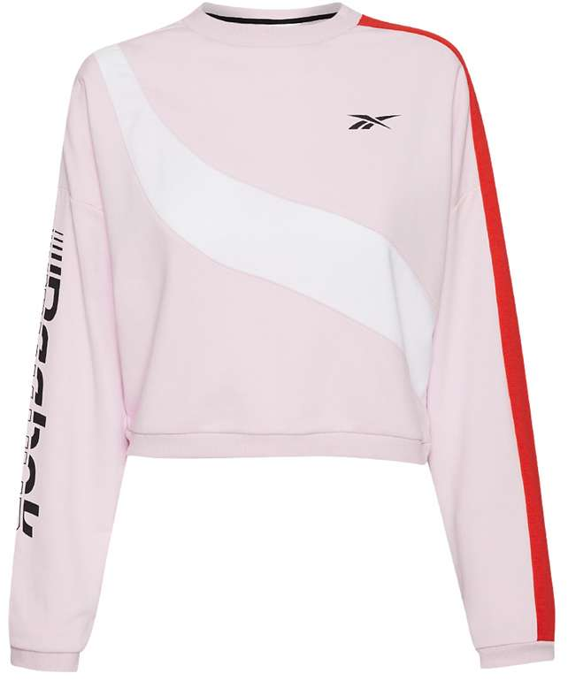 Reebok Workout Ready Meet You There Damen Sweatshirt für 23,94€inkl. Versand (statt 28€)