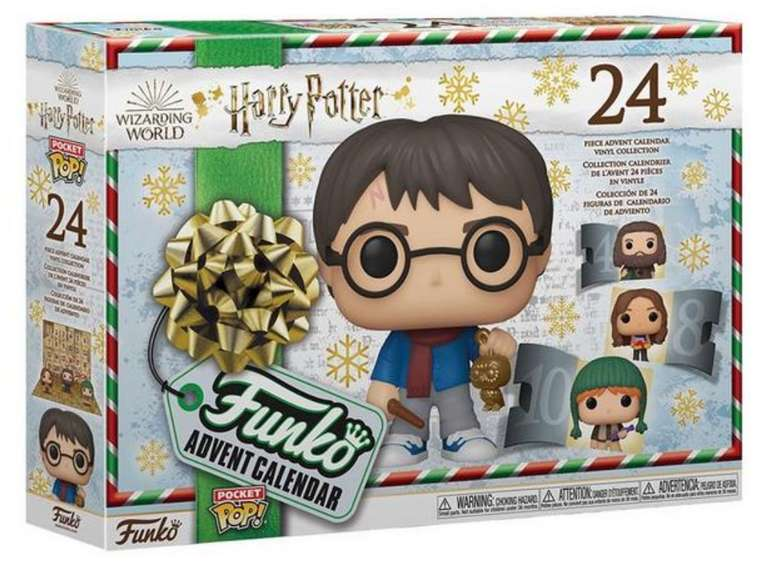 Funko POP Harry Potter Adventskalender (ab 3 Jahre) für 16,79€inkl. Versand (statt 45€) - Thalia Club!