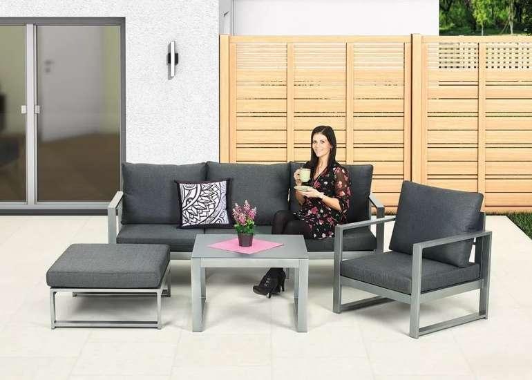Primaster Lounge-Set Limone inkl. Sitz- und Rückenkissen für 699€ inkl. Versand (statt 899€)