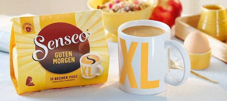 100er Pack Senseo Kaffeepads Guten Morgen XL