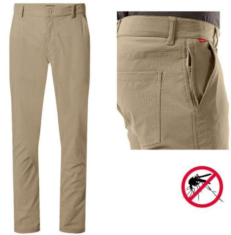 Craghoppers - NosiLife Santos Herren Hose mit Insekten- und UV-Schutz für 24,85€ (statt 40€)