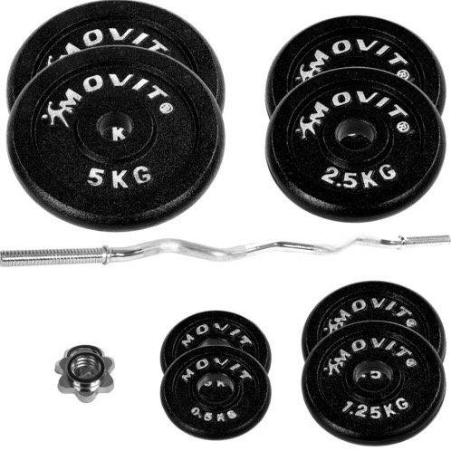 Movit Hantelset mit 26kg Gewichten aus Gusseisen für 49,99€ inkl. Versand