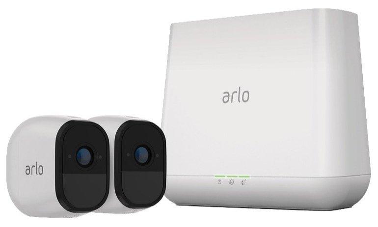 Netgear Arlo Pro Smart VMS4230P Sicherheitssystem (2 Kameras) für 385,90€