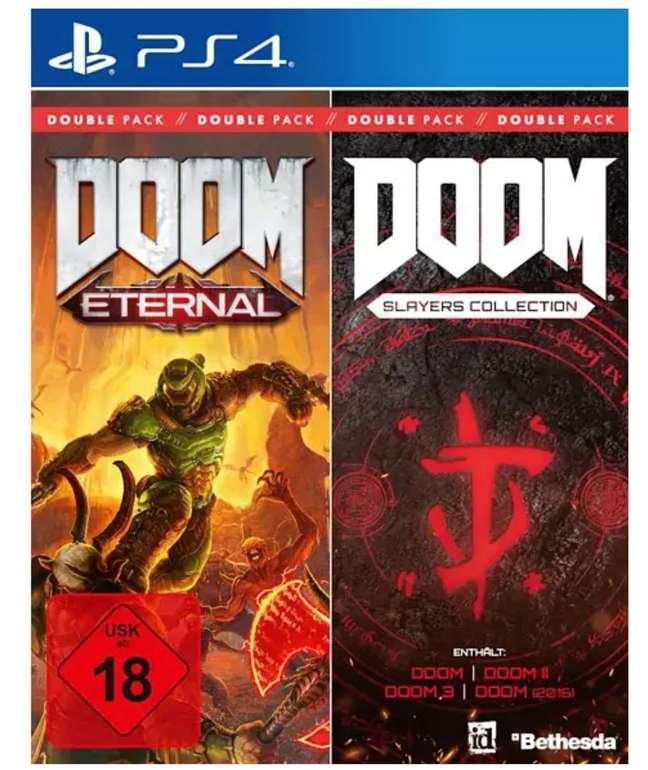 Doom Double Pack (Doom Eternal & Doom Slayers Collection) für PS4 oder Xbox One für je 27,98€ (statt 40€)