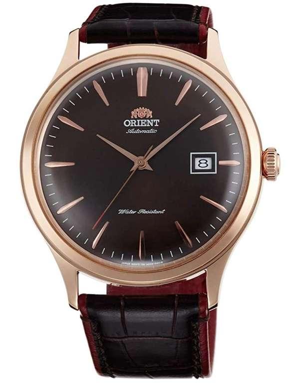 Orient Bambino FAC08001T0 Automatikuhr (42 mm, Edelstahl, Lederarmband, Datumsanzeige) für 97,04€