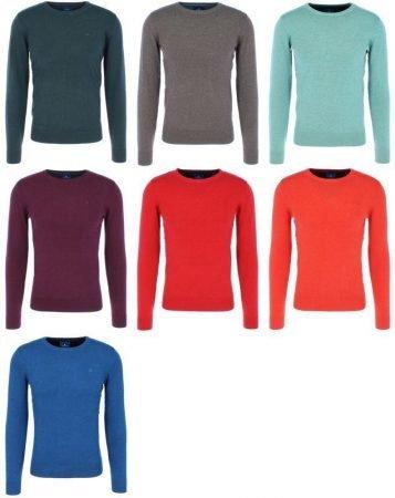 Tom Tailor Herren Basic Sweater 100% Baumwolle für 22€ inkl. VSK
