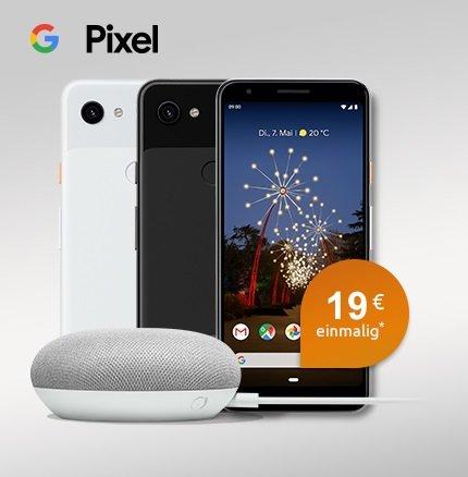 Otelo Allnet Flat Classic mit 5GB LTE + Pixel 3a + Home Mini für 19,99€ mtl.