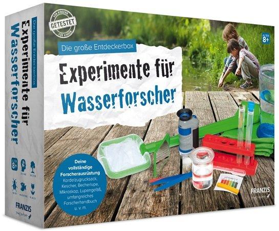 Die große Entdeckerbox - Experimente für Wasserforscher für 16,95€ (statt 33€)