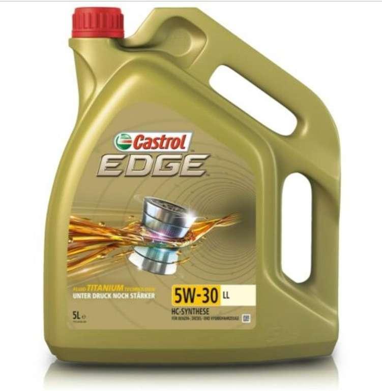eBay: 10%-Gutschein für Auto- & Motorradzubehör, z.B. 5 L Castrol Edge Fluid Titanium 5W-30 LL für 35,99€