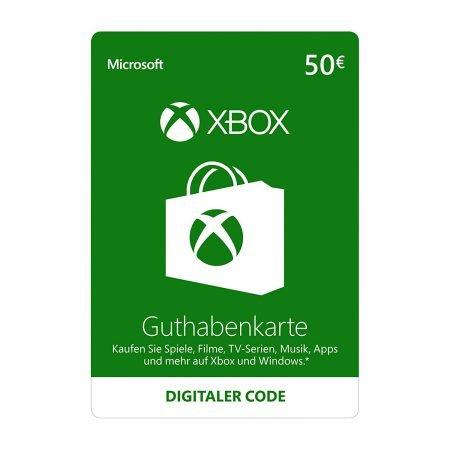 Schnell! 50€ Xbox Guthaben für 34,94€