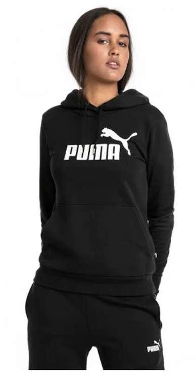 Puma ESS Logo Damen Hoody TR in schwarz für 20,94€ inkl. Versand (statt 39€)