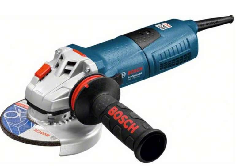 Bosch Winkelschleifer GWS 13-125 CIE mit 1.300 Watt für 116,10€ inkl. Versand (statt 127€)