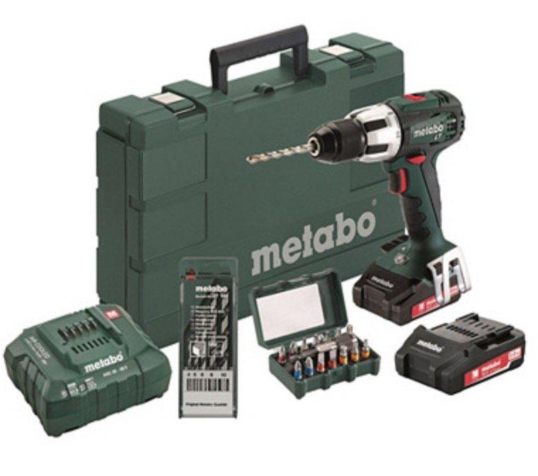 Metabo Werkzeug Sale mit bis -70% - z.B. Akku-Schlagbohrmaschine SB 18 LT für 169,99€
