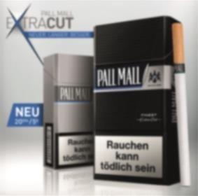 Gratis Zigaretten: 1 Schachtel Pall Mall Extra Cut komplett kostenlos