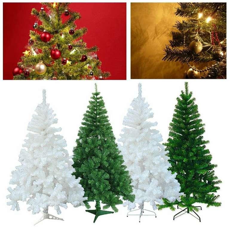 Vingo künstlicher Weihnachtsbaum in grün oder weiß (120 - 220 cm) ab 7,99€ inkl. VSK