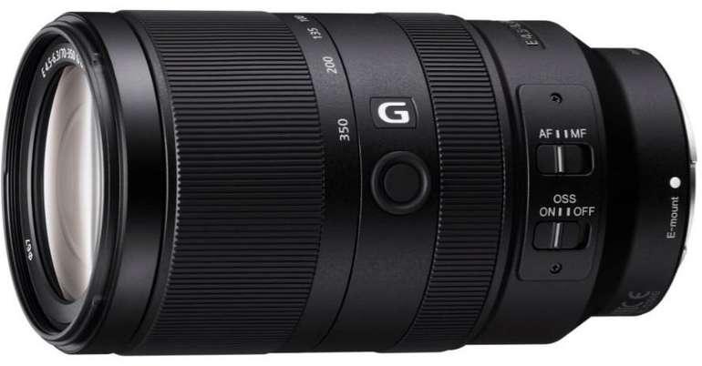 Sony E 70–350mm f/4.5-6.3 G-Lens Objektiv für Sony E-Mount für 585€ inkl. Versand (statt 700€)