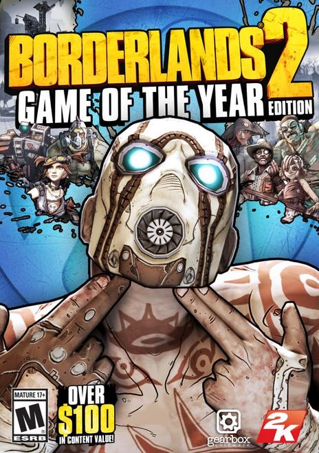 Borderlands 2 Game of the Year Edition PC (Steam Key) für 4,69€ (statt 6,30€)