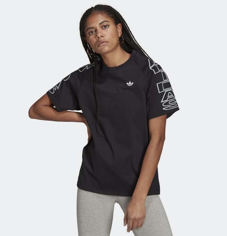 Adidas Loose Adidas Letter Damen T-Shirt in 2 Farben für je 21€ (statt 27€) - Creators Club