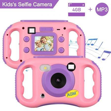 AGM MP3 Kinder- Digitalkamera mit LCD-Display für 22,99€ (statt 39€)