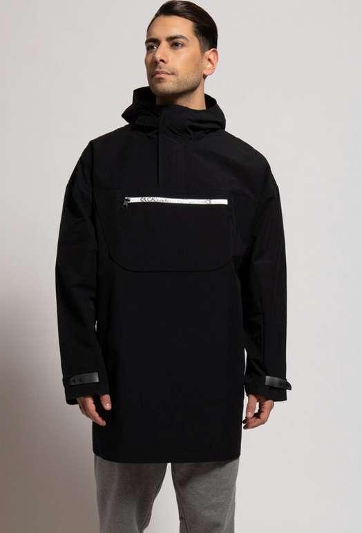 Calvin Klein Overshirt-Jacke mit zipbarer Tasche in schwarz für 71,21€ inkl. Versand (statt 100€)