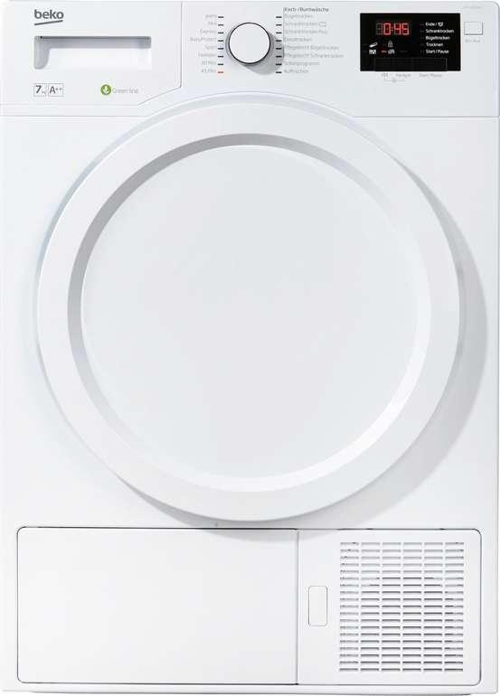 Beko DPS 7405 W3 Wärmepumpentrockner (7kg, Knitterschutz) für 329,99€ inkl. Versand (statt 378€)