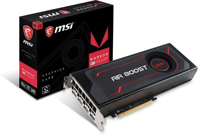 MSI Radeon RX Vega 56 Air Boost 8G OC Grafikkarte zu 223,99€