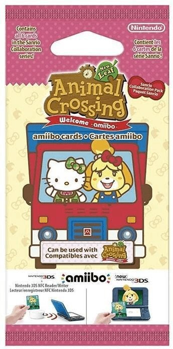 Nintendo amiibo Karten Animal Crossing: New Leaf + Sanrio für 9,98€ inkl. Versand (statt 14€)  - Vorbestellung!