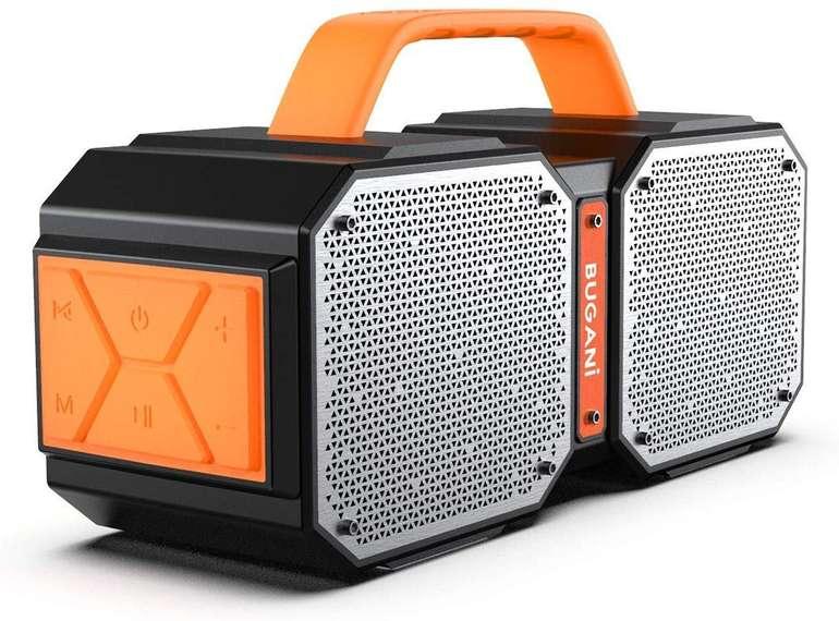 Bugani wasserdichter Bluetooth Lautsprecher mit 40 Watt für 41,99€ (statt 80€)