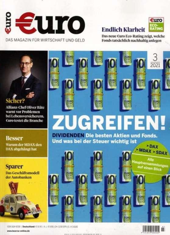 €uro im Jahresabo für 101,80€ + z.B. 100€ Premium Bestchoice Gutschein