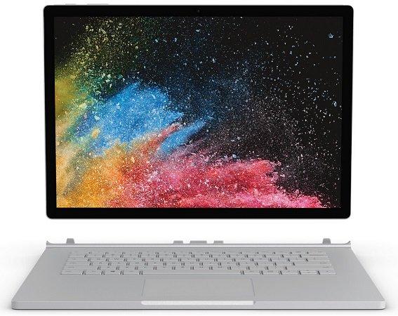 Microsoft Surface Book 2 mit i7, 256GB, 16GB, 6GB Grafik zu 2.385€ (statt 2406€)