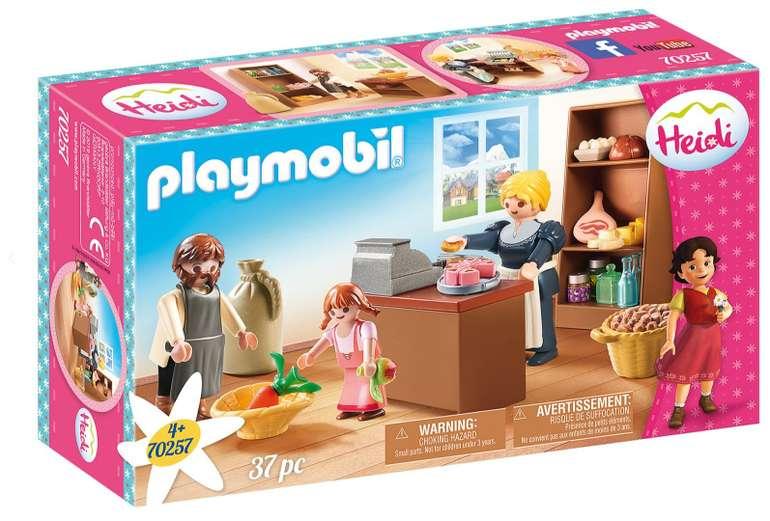 "Playmobil ""Heidi - Dorfladen der Familie Keller"" (70257) für 5€ inkl. Versand (statt 9€) - Prime!"