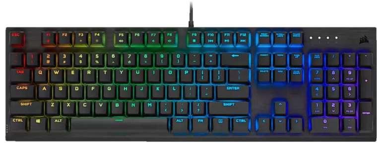 Corsair K60 RGB Pro Mechanische Gaming Tastatur + M65 RGB Elite Gaming Maus für 135,50€ (statt 195€)