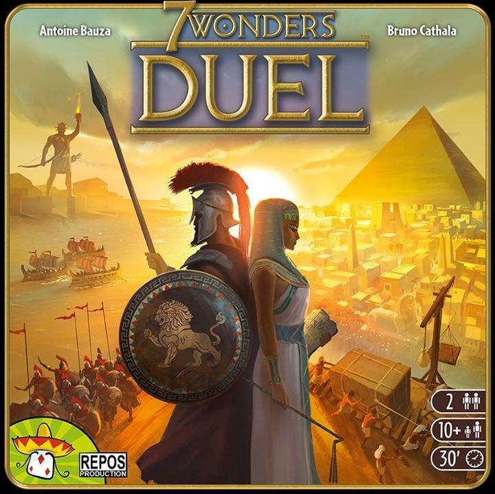 7 Wonders Duell (2 Personen Gesellschaftsspiel, Brettspiel) für 16,17€ inkl. Versand (statt 23€) - Thalia Club!