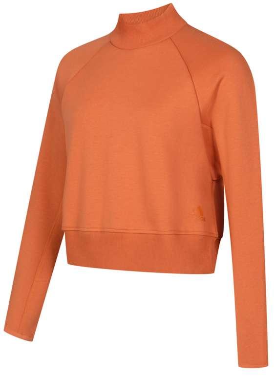 adidas VRCT Crew Damen Sweatshirt in Orange für 28,94€inkl. Versand (statt 35€)