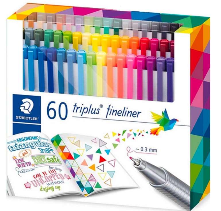 Staedtler Fineliner Triplus 60er Pack bei Filialabholung für 14,99€ (statt 27€)
